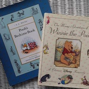 2 Hardcover Like New Winnie the Pooh Books